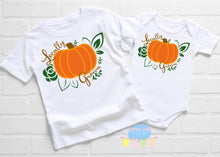Load image into Gallery viewer, Locally Grown Fall Baby Onesie / Bib / Toddler T Shirt - Cutesy Baby Boutique