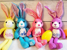 Load image into Gallery viewer, Kids Easter Basket Stuffer - Custom Plush Bunny- Cutesy Baby Boutique
