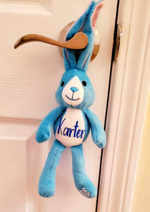 Kids Easter Basket Stuffer - Custom Plush Bunny- Cutesy Baby Boutique