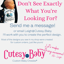 Load image into Gallery viewer, Promoted to Human Grandparent Baby Onesie® / Bib - Cutesy.Baby