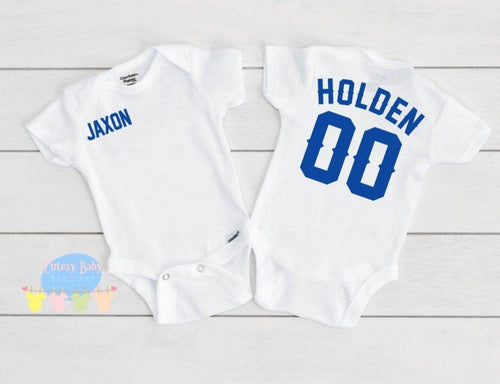 Sports Theme Baby Onesie® / Bib / Toddler T-Shirt - Cutesy Baby Boutique