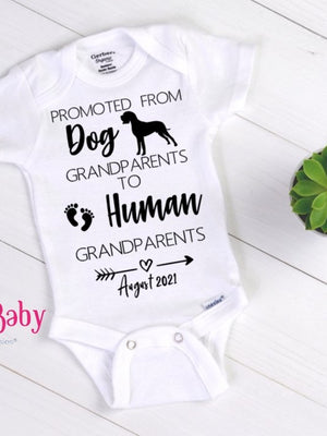 custom baby announcement onesie