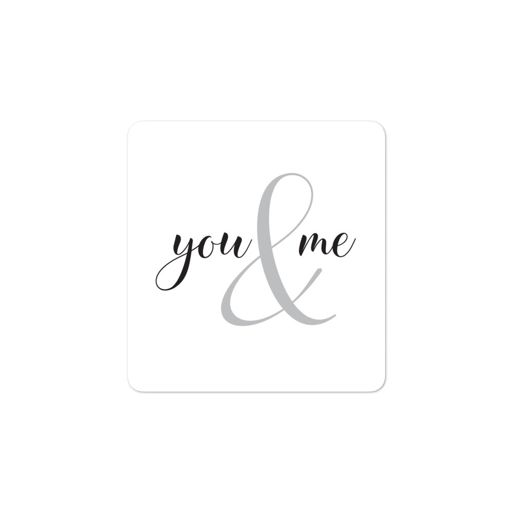 Stickers - You & me