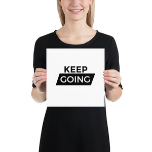 Poster - Quotes - Keep going