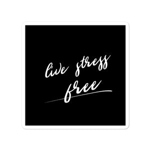 Bubble-free stickers - Live stress free