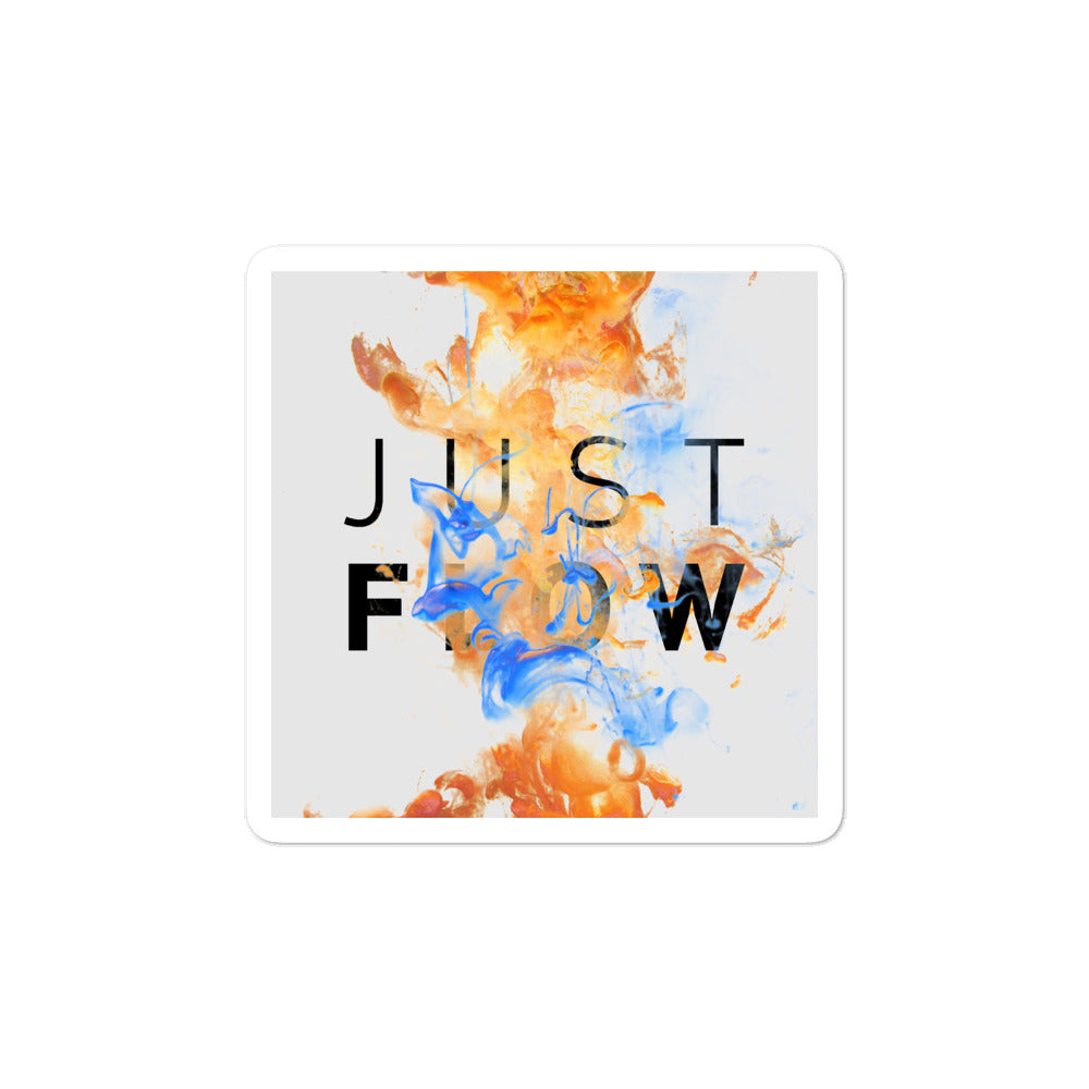 Bubble-free stickers - Just Flow