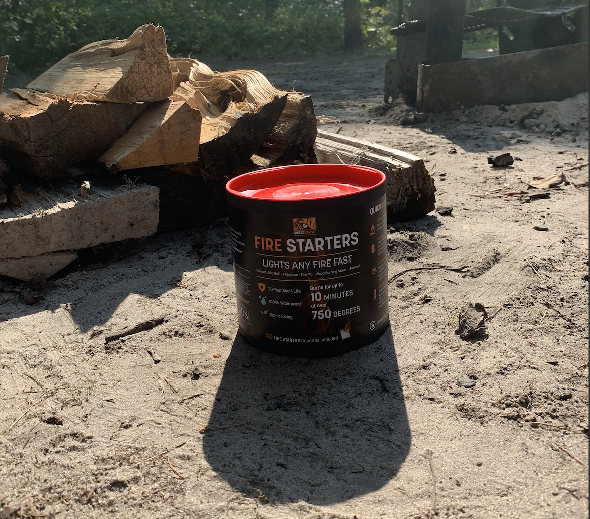 QuickSurvive Fire Starters Top 9 Tips That Will Help You Build the Perfect Fire for Your Campsite - The best Fire Starters for your bugout bag, dooms day shelter or camping bag.
