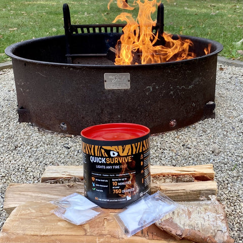 50 Campfires The Camping Authority - QuickSurvive Best Waterproof Fire Starters Review