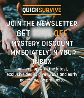 QuickSurvive The Best Fire Starters For Any Fire Camping or Survival Emergencies