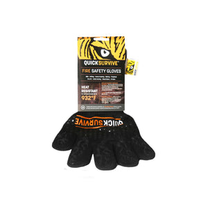 Heat Resistant Fire Safety Glove - QUICKSURVIVE, the highest heat protection for all your grilling, baking, BBQ and hot cooking needs. Get your Grill armor with heat resistant gloves.