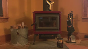 How to light a wood burning stove quickly, using quicksurvive all purpose firestarters