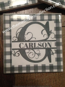 Personalized Set of Coasters