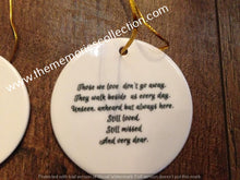 Load image into Gallery viewer, Memorial Photo Keepsake Ceramic Ornament