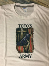 Load image into Gallery viewer, PROFESSOR TOTO'S ARMY T-shirt
