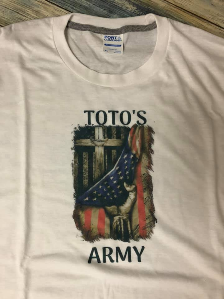 PROFESSOR TOTO'S ARMY T-shirt
