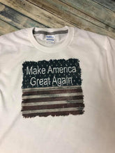 Load image into Gallery viewer, Make America Great Again Flag t-shirt Toto's Army