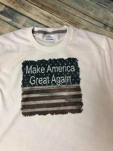 Make America Great Again Flag t-shirt Toto's Army