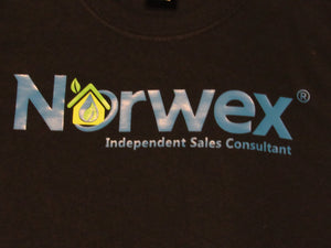 Norwex t-shirt black independent sales consultant advertising