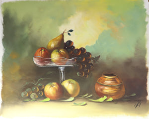 Fruit Bowl - Oil on Canvas - 0176