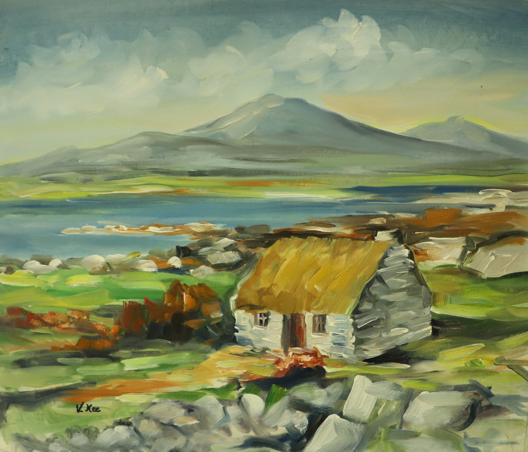 Irish Cottage - Original Oil on Canvas