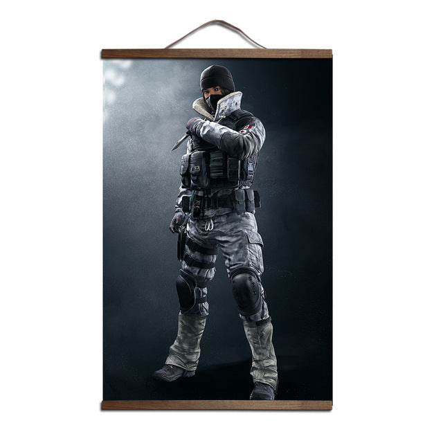 Rainbow Six Siege Game Poster