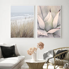 Load image into Gallery viewer, Reed Grass Sea Landscape Poster Canvas Print Nature Scenery Wall Art