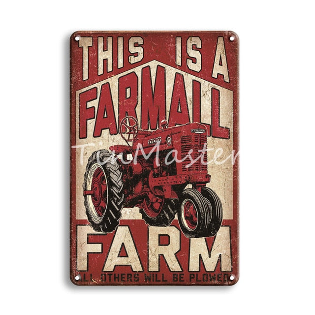 Metal Sign Garage Home Decor Vintage