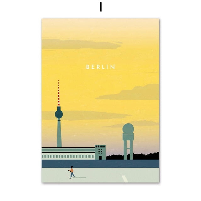 Places Wall Art Print Graphics - Berlin