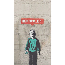 Load image into Gallery viewer, Graffiti Bansky Wall Art Posters And Prints  Pictures More Likes Crying Boy Art Print Canvas Painting