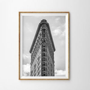 New York City Black White Posters and Prints