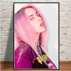 Billie Eilish Poster Modular Picture