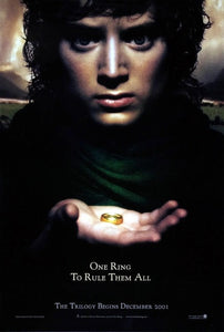 Lord of the Rings movie poster