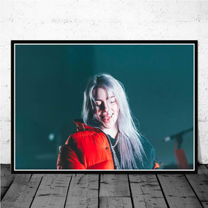 Billie Eilish Music Singer Pop Star Posters And Prints
