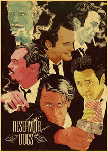Reservoir Dogs vintage posters Prints
