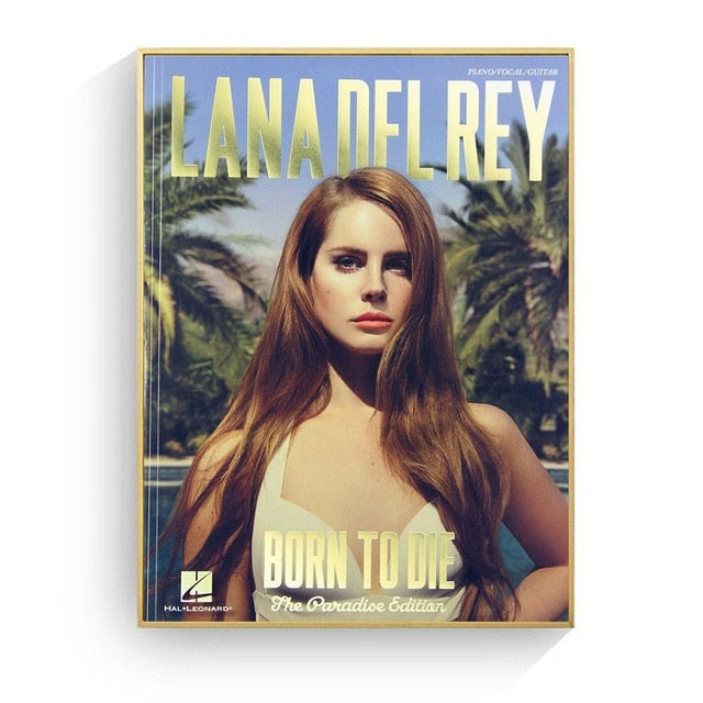 Lana Del Rey Pop Art Wall Art Canvas