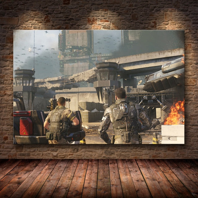 Call of Duty Modern Warfare Wall Art Canvas Poster