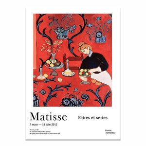 Wall Art Poster Prints Canvas Painting Henri Matisse Pictures
