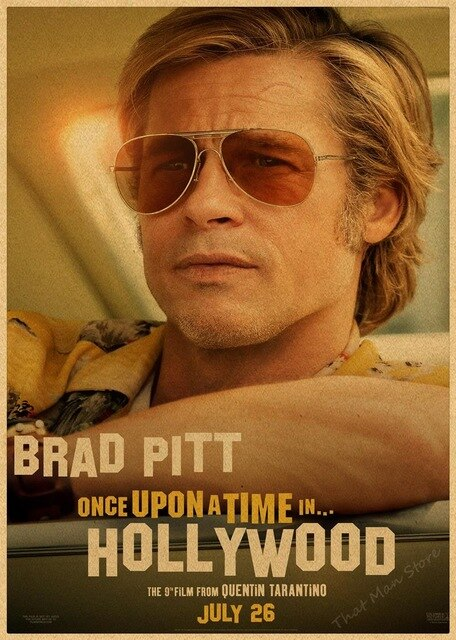 Once Upon a Time in Hollywood - Quentin Tarantino Poster