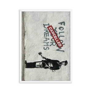 Banksy Graffiti CANVAS Poster Picture