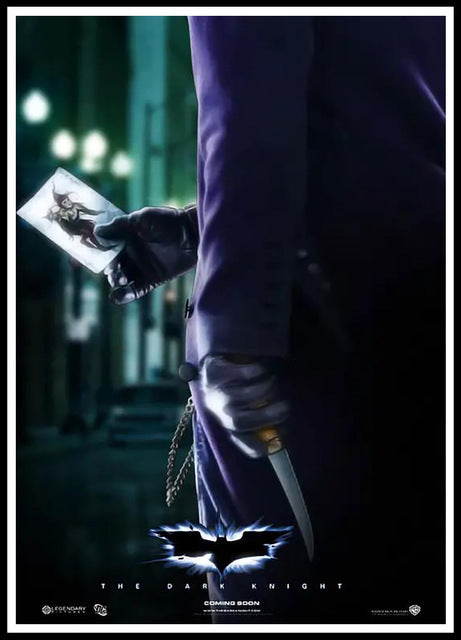 Joker Batman The Dark Knight 42X30CM Superheroes Movie Posters