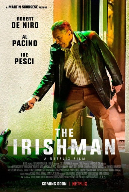 The Irishman Movie Martin Scorsese HD Wall Art