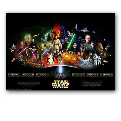 Star Wars Posters And Prints Canvas