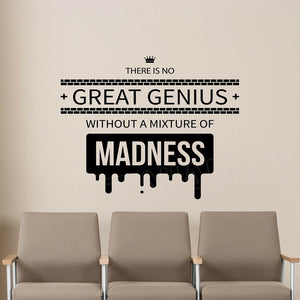 Inspire Quote Wall Decal Education Science Office Decor Vinyl Sticker