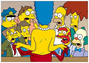 Modern Canvas Poster and Prints Movie Comic Simpsons Pictures