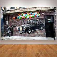 Load image into Gallery viewer, 3D Canvas Painting BANKSY Dreams Posters and Prints Graffiti Street Art