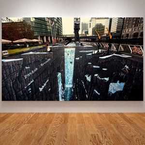 3D Canvas Painting Dreams Posters and Prints Graffiti Street Art