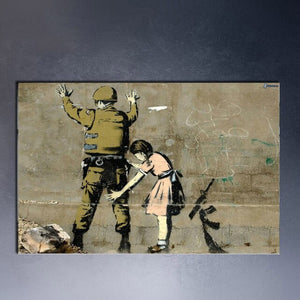 Banksy Graffiti CANVAS Art Prints paintings wall art poster