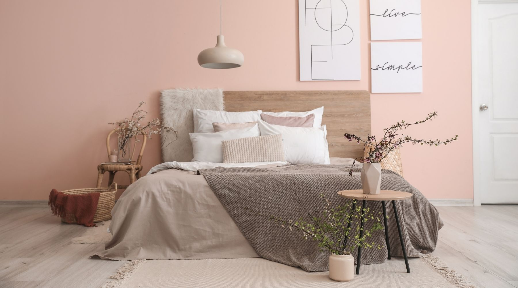 How To Transform Your Bedroom From Boring To Beautiful