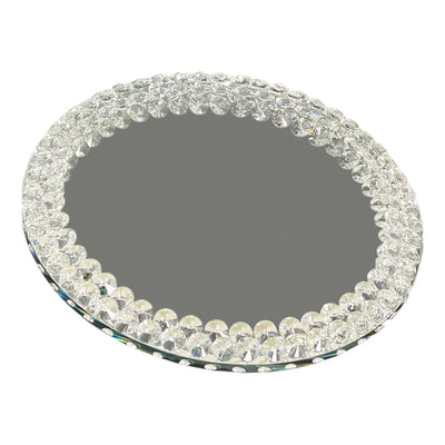 Lazy Susan Mirrored Spinning Tray