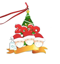 Load image into Gallery viewer, DIY 2020 Family Christmas Ornament